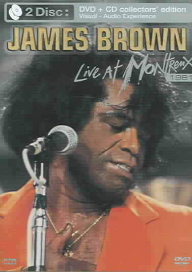 JAMES BROWN:LIVE AT MONTREUX 1981 BY BROWN,JAMES (DVD)